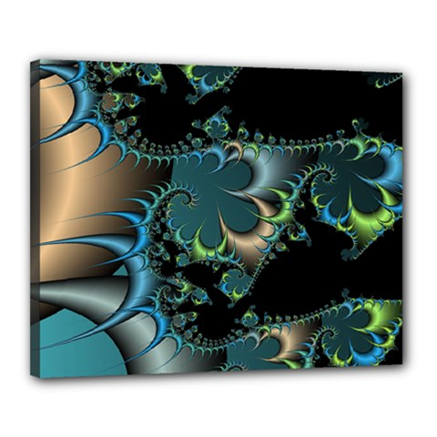 Fractal Art Artwork Digital Art Canvas 20  X 16