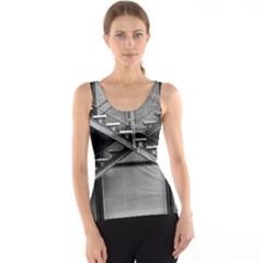 Architecture Stairs Steel Abstract Tank Top