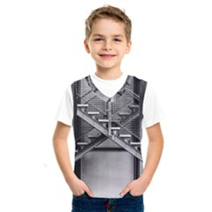 Architecture Stairs Steel Abstract Kids  Sportswear