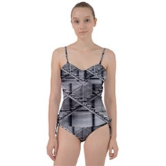Architecture Stairs Steel Abstract Sweetheart Tankini Set