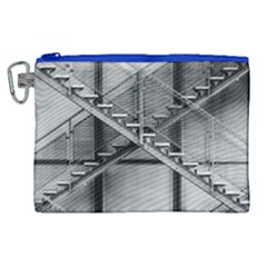 Architecture Stairs Steel Abstract Canvas Cosmetic Bag (xl)