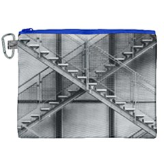 Architecture Stairs Steel Abstract Canvas Cosmetic Bag (xxl)