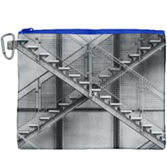 Architecture Stairs Steel Abstract Canvas Cosmetic Bag (xxxl)