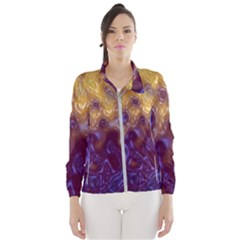 Fractal Rendering Background Wind Breaker (women)