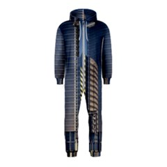Skyscraper Skyscrapers Building Hooded Jumpsuit (kids)