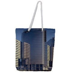 Skyscraper Skyscrapers Building Full Print Rope Handle Tote (large)
