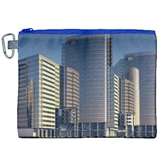 Skyscraper Skyscrapers Building Canvas Cosmetic Bag (xxl)