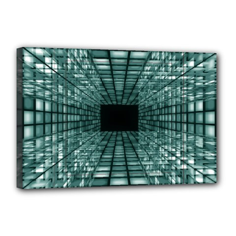 Abstract Perspective Background Canvas 18  X 12