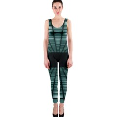 Abstract Perspective Background Onepiece Catsuit