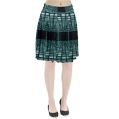 Abstract Perspective Background Pleated Skirt