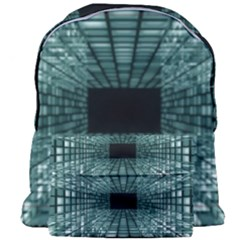Abstract Perspective Background Giant Full Print Backpack