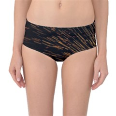 Metalworking Iron Radio Weld Metal Mid Waist Bikini Bottoms
