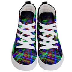 Electronics Board Computer Trace Kid s Hi Top Skate Sneakers