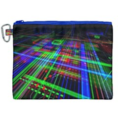 Electronics Board Computer Trace Canvas Cosmetic Bag (xxl)