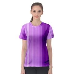 Background Texture Pattern Purple Women s Sport Mesh Tee