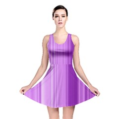 Background Texture Pattern Purple Reversible Skater Dress