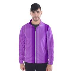 Background Texture Pattern Purple Wind Breaker (men)