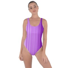 Background Texture Pattern Purple Bring Sexy Back Swimsuit