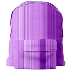 Background Texture Pattern Purple Giant Full Print Backpack