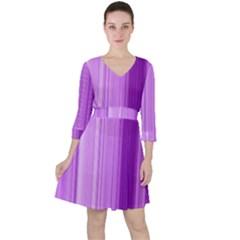 Background Texture Pattern Purple Ruffle Dress
