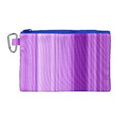 Background Texture Pattern Purple Canvas Cosmetic Bag (large)