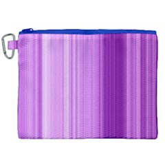 Background Texture Pattern Purple Canvas Cosmetic Bag (xxl)