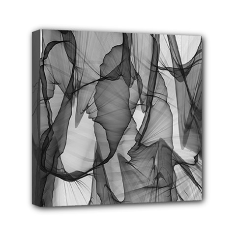 Abstract Black And White Background Canvas Travel Bag