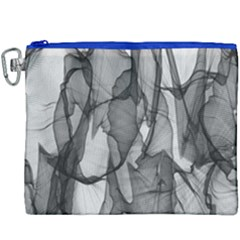 Abstract Black And White Background Canvas Cosmetic Bag (xxxl)