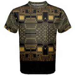 Board Digitization Circuits Men s Cotton Tee