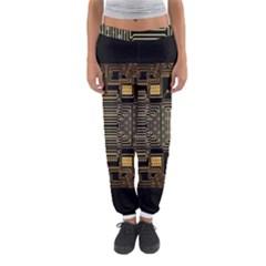Board Digitization Circuits Women s Jogger Sweatpants