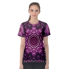 Background Abstract Texture Pattern Women s Sport Mesh Tee