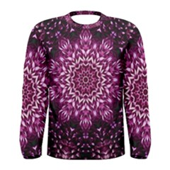 Background Abstract Texture Pattern Men s Long Sleeve Tee