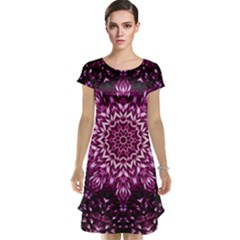 Background Abstract Texture Pattern Cap Sleeve Nightdress