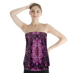 Background Abstract Texture Pattern Strapless Top