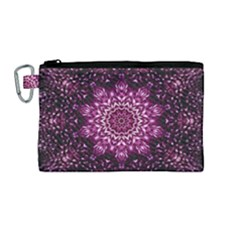Background Abstract Texture Pattern Canvas Cosmetic Bag (medium)