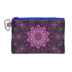 Background Abstract Texture Pattern Canvas Cosmetic Bag (large)