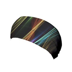 Lines Rays Background Light Yoga Headband