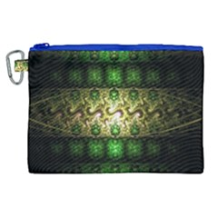 Fractal Art Digital Art Canvas Cosmetic Bag (xl)