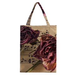 Sheet Music Manuscript Old Time Classic Tote Bag