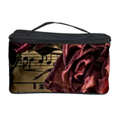 Sheet Music Manuscript Old Time Cosmetic Storage Case