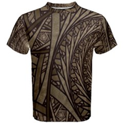 Abstract Pattern Graphics Men s Cotton Tee