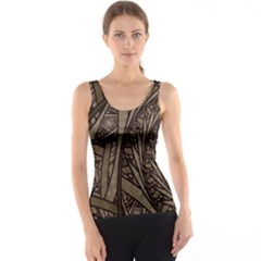 Abstract Pattern Graphics Tank Top