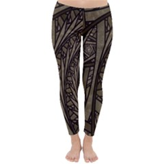 Abstract Pattern Graphics Classic Winter Leggings