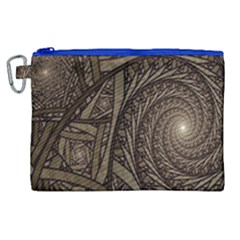 Abstract Pattern Graphics Canvas Cosmetic Bag (xl)