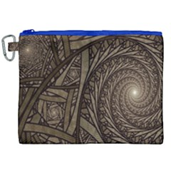 Abstract Pattern Graphics Canvas Cosmetic Bag (xxl)