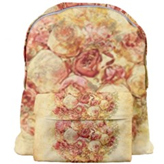 Vintage Digital Graphics Flower Giant Full Print Backpack