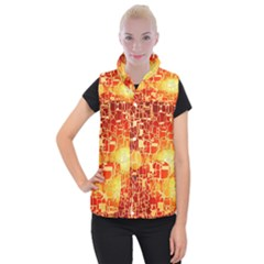 Board Conductors Circuits Women s Button Up Puffer Vest