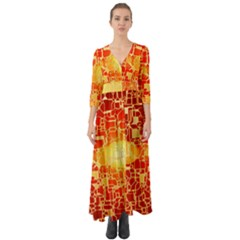 Board Conductors Circuits Button Up Boho Maxi Dress