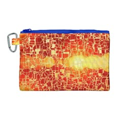 Board Conductors Circuits Canvas Cosmetic Bag (large)