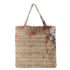 Art Collage Design Colorful Color Grocery Tote Bag